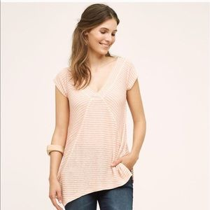 NWT Anthropologie Meadow Rue Asymmetrical Top (XS)